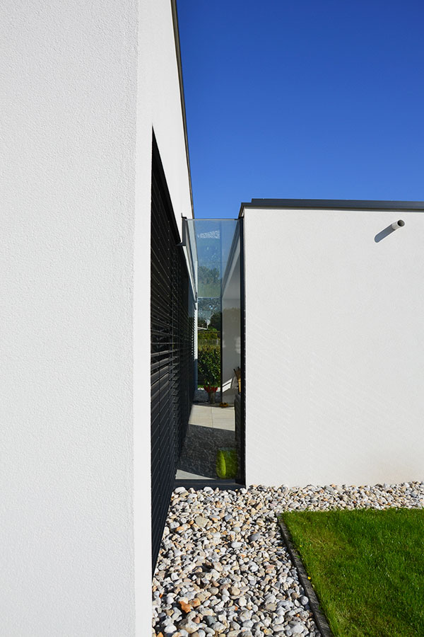 Baustil-Einfamilienhaus