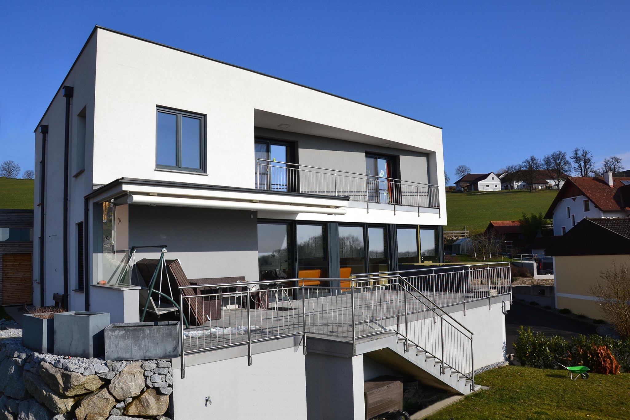 Einfamilienhaus Projekt Haus K